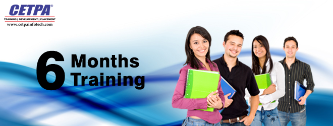 6 months training in noida