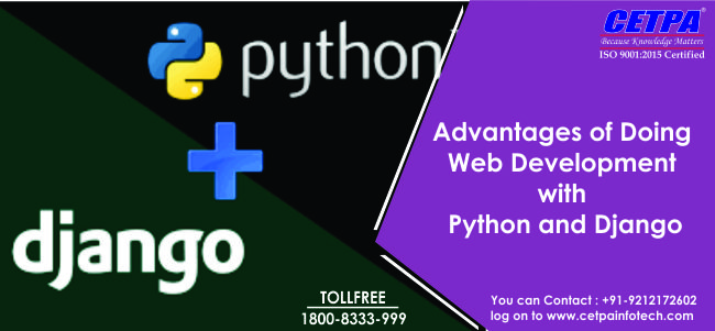 web development Python and django