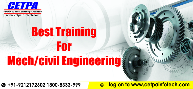 Summer Training for Mech/Civil Students