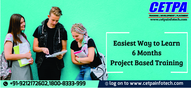 Six Months Project Training in Noida