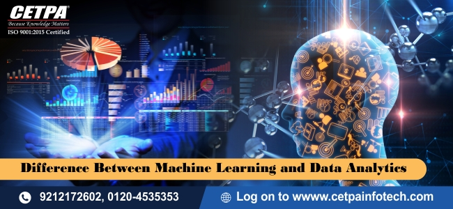 Difference Between Machine Learning and Data Analytics