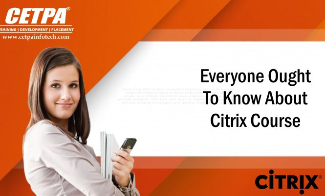 Everyone Ought To Know About Citrix Course