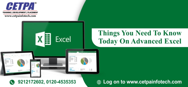 advance excel training in noida