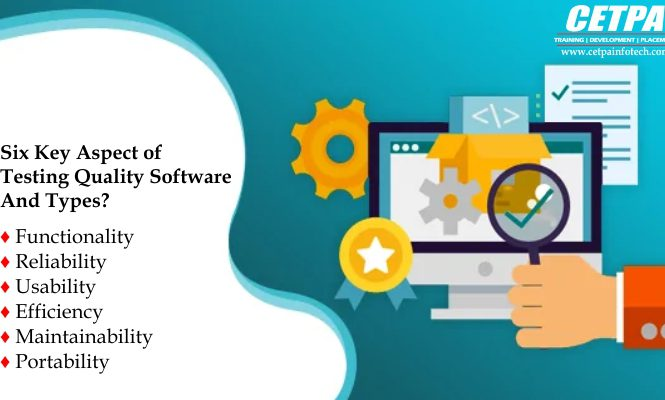 Six Key Aspect Of Testing Quality Software And Its Types