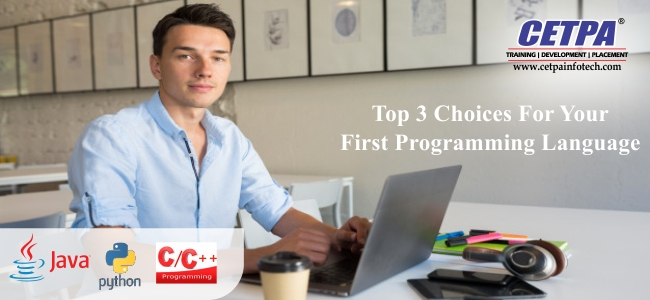 Top 3 Choices For Your First Programming Language